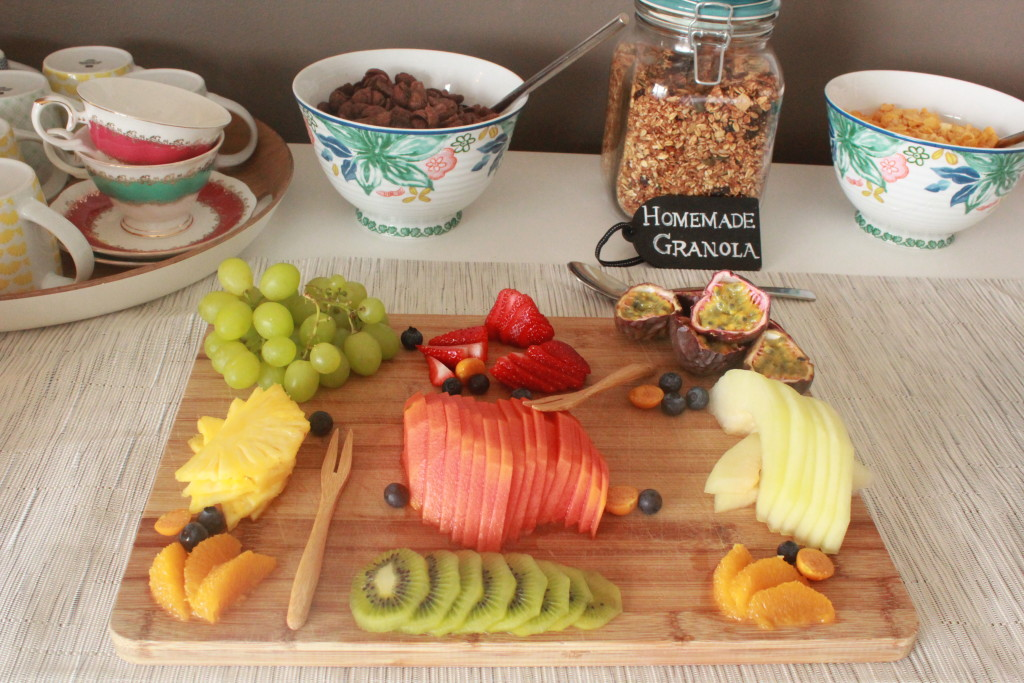 A FEAST FOR THE EYES AND MOUTH - DELICIOUS BREAKFAST SPREAD.